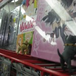 """Finally, a souvenir: Jananese animation, or """"Anime""""! Gray & Nameless had a hard time deciding which one they wanted most, there was so much to choose from!"""