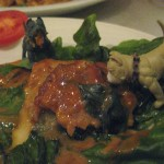 ...but the red curry eggplant was especially tasty. And spicy!