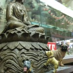 He also showed them lots of Chinese art!