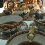 """And when they got home, Gray & Nameless invited their dear friend Mr. Boo over for tea (bought in Chinatown!), and to thank him for inspiring them to venture out and learn about other countries and cultures on their """"World Tour"""" of San Francisco!"""