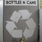This time, they knew exactly what to do with that can: RECYCLE IT!